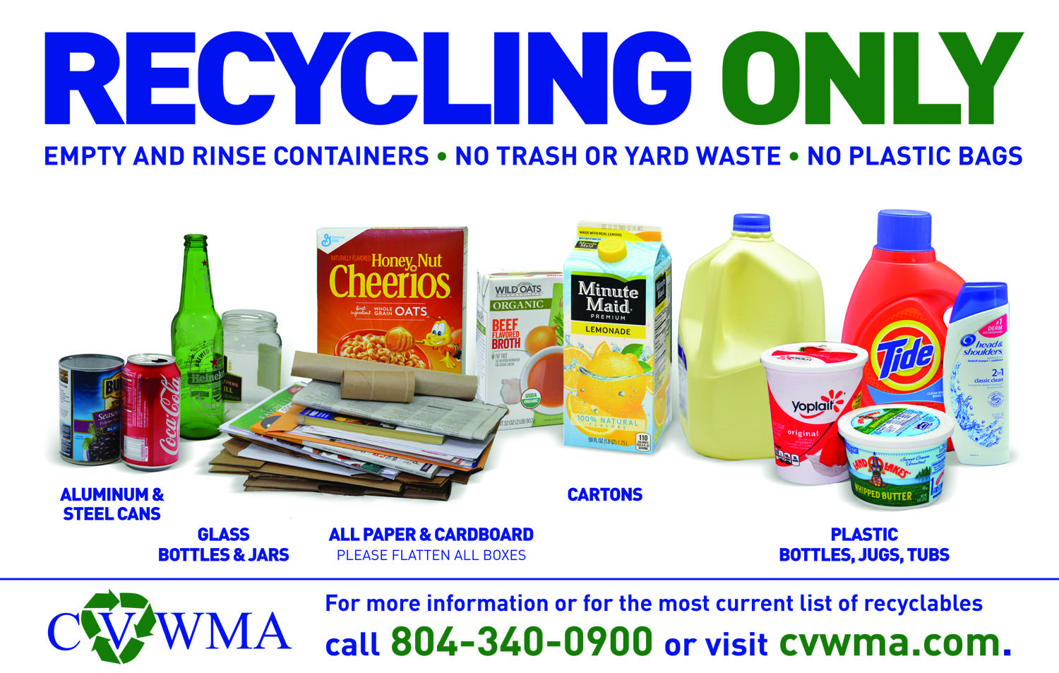 What To Recycle Cvwma